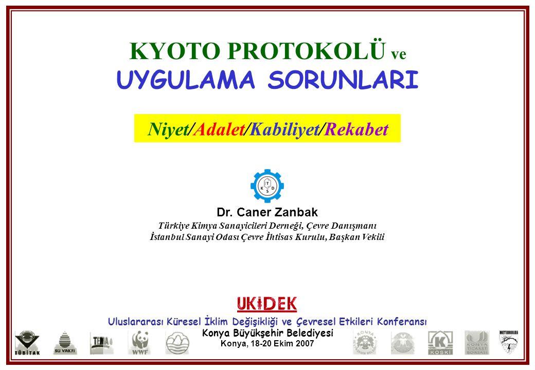 Niyet/Adalet/Kabiliyet/Rekabet
