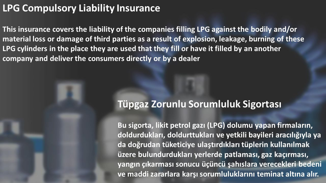 LPG Compulsory Liability Insurance