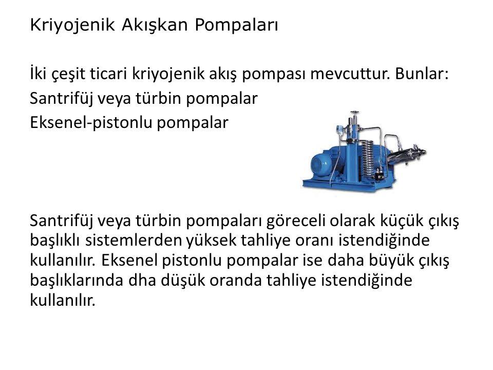 Kriyojenik Akışkan Pompaları