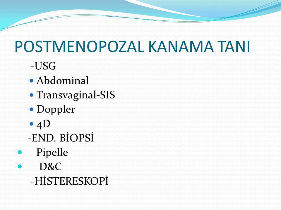 POSTMENOPOZAL KANAMA TANI