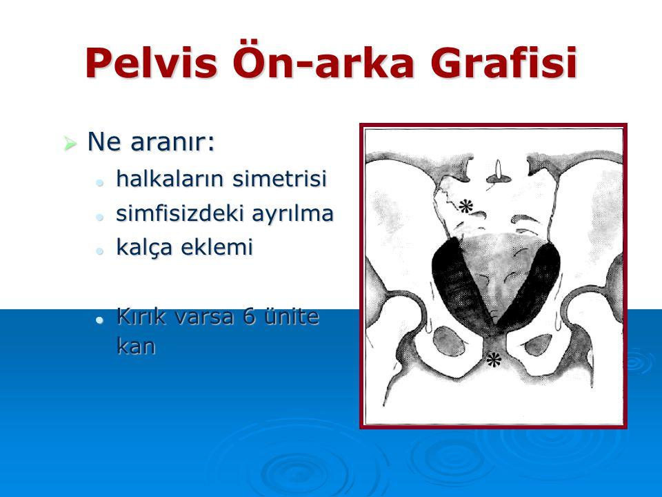 Pelvis Ön-arka Grafisi