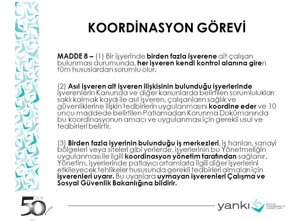KOORDİNASYON GÖREVİ