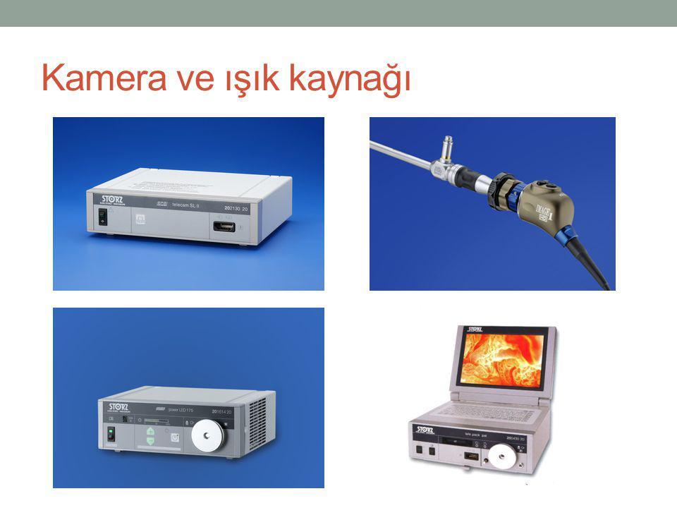 Kamera ve ışık kaynağı