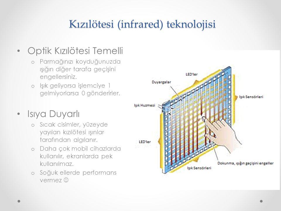 Kızılötesi (infrared) teknolojisi