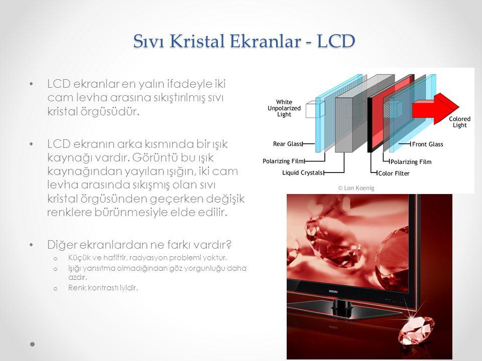 Sıvı Kristal Ekranlar - LCD