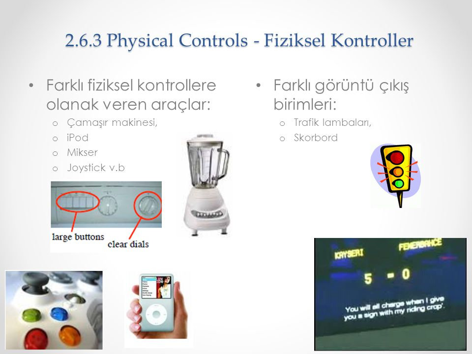 2.6.3 Physical Controls - Fiziksel Kontroller