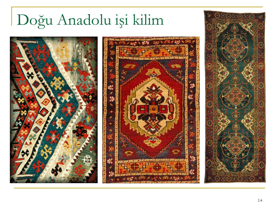 Doğu Anadolu işi kilim