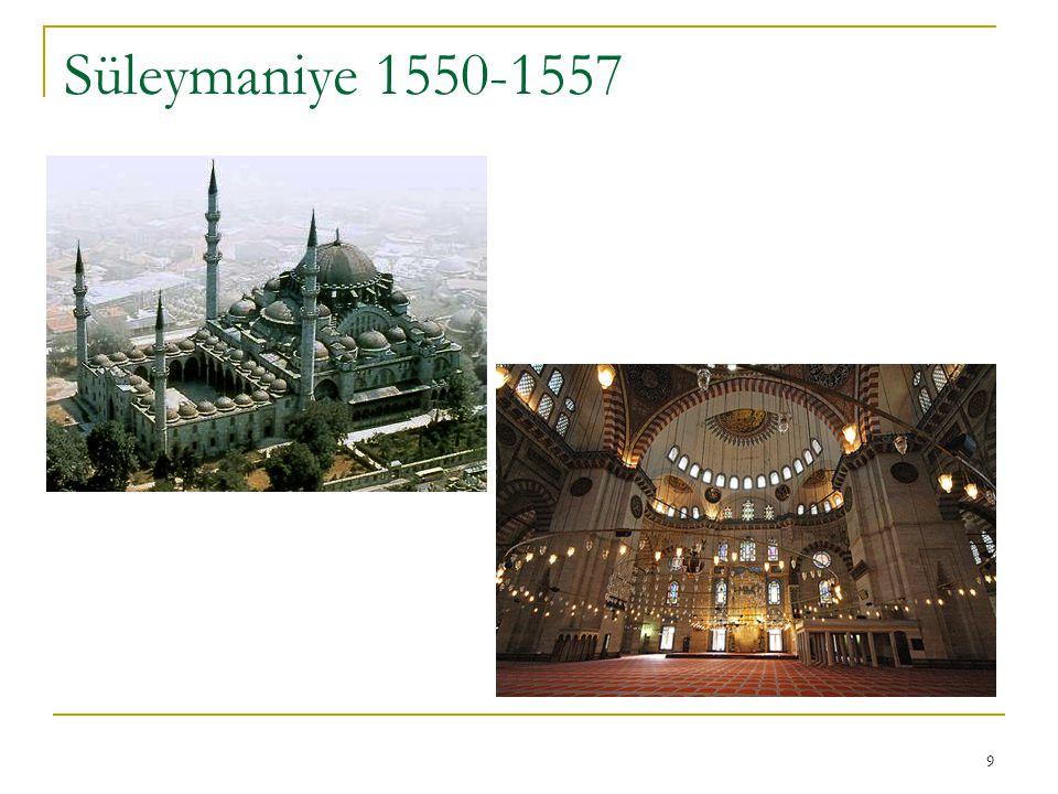 Süleymaniye 1550-1557