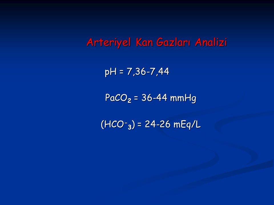 Arteriyel Kan Gazları Analizi