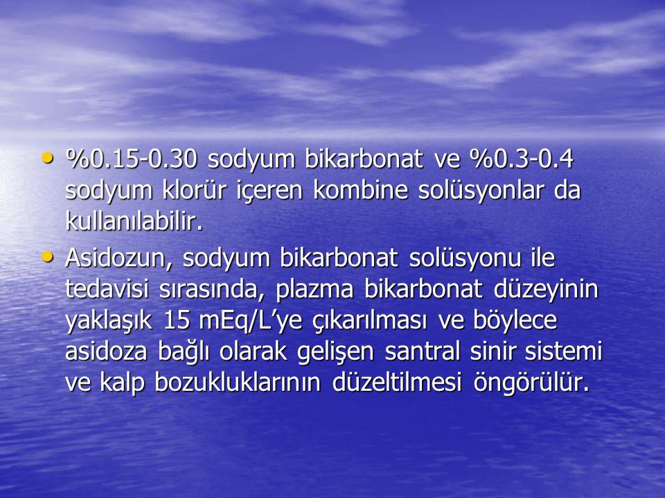 %0. 15-0. 30 sodyum bikarbonat ve %0. 3-0