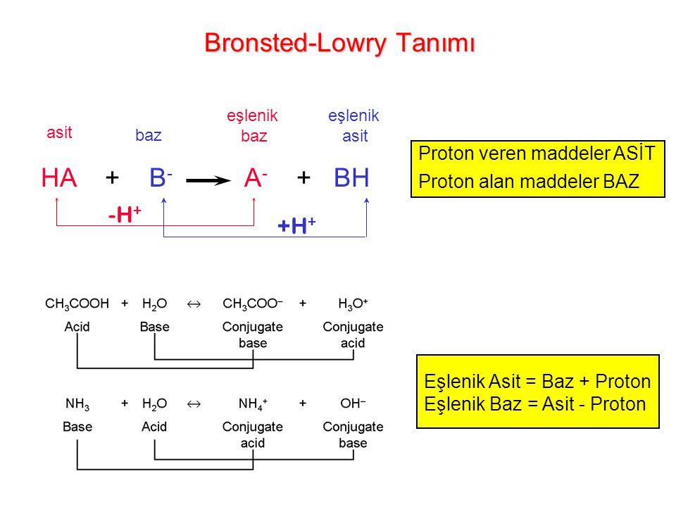 Bronsted-Lowry Tanımı