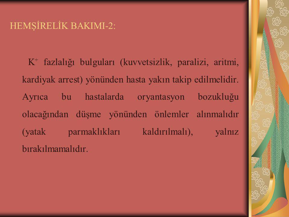HEMŞİRELİK BAKIMI-2: