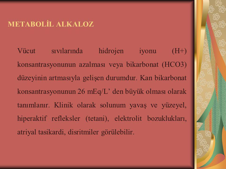 METABOLİL ALKALOZ