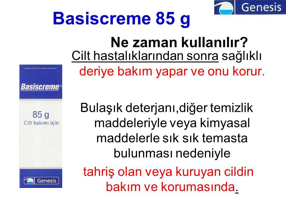 Basiscreme 85 g Ne zaman kullanılır