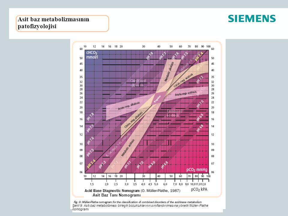 Asit baz metabolizmasının patofizyolojisi