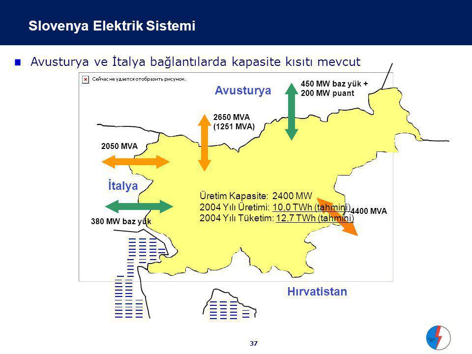 Slovenya Elektrik Piyasası Fiyatları