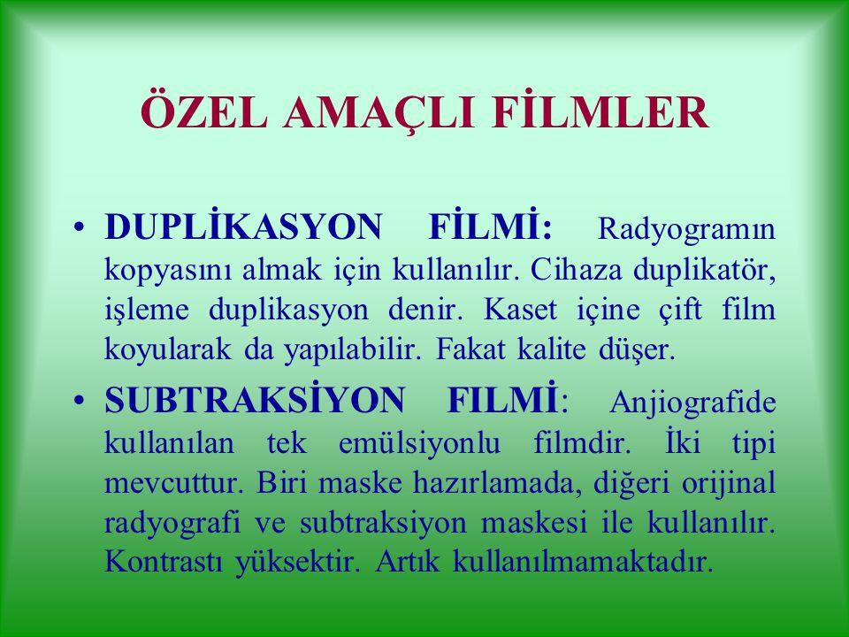 ÖZEL AMAÇLI FİLMLER