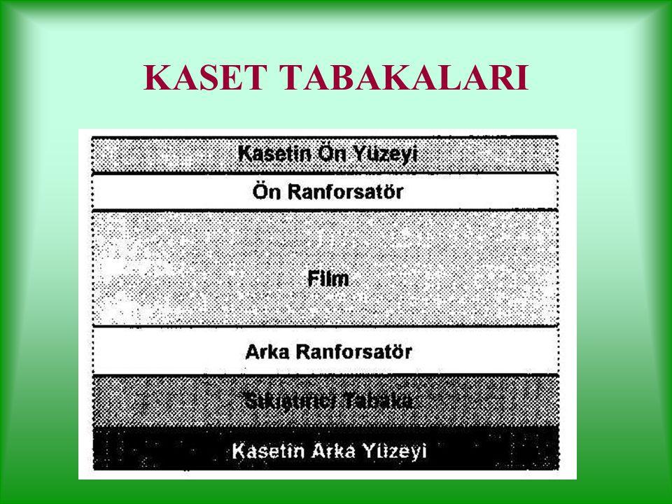 KASET TABAKALARI