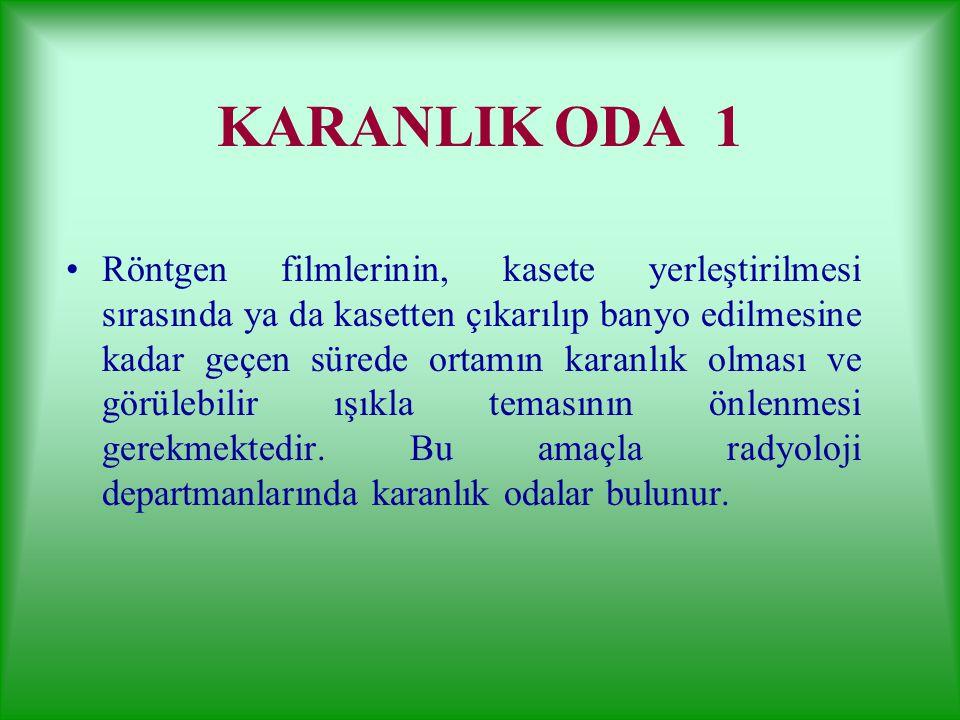 KARANLIK ODA 1