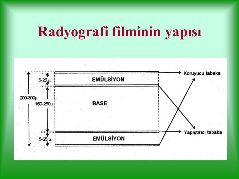 Radyografi filminin yapısı