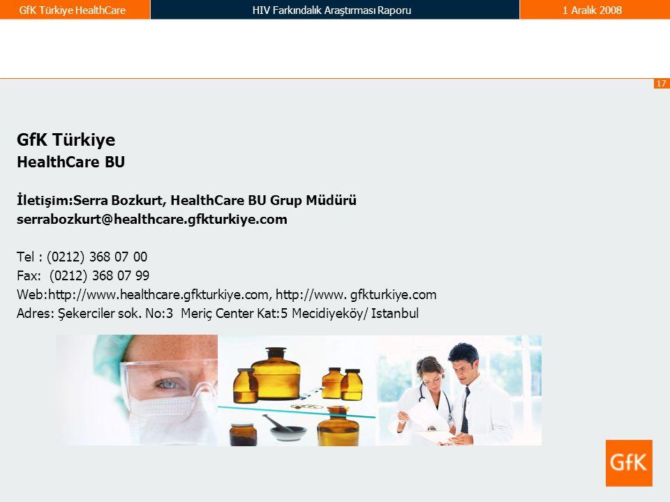 GfK Türkiye HealthCare BU