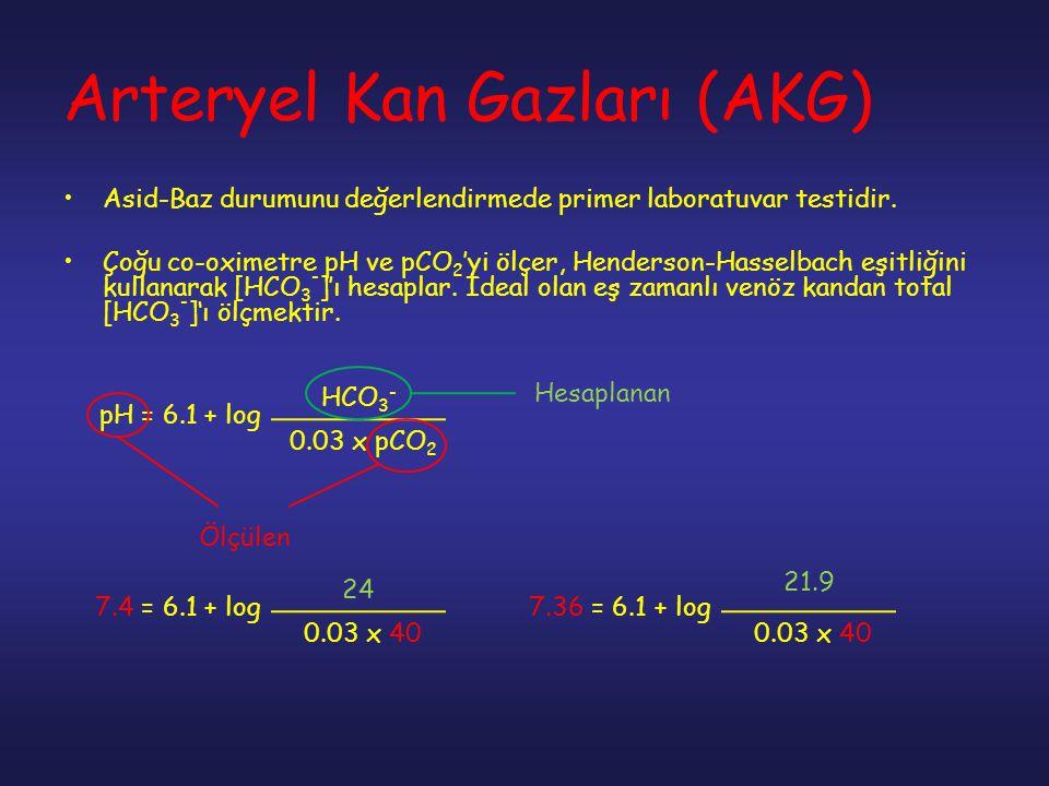 Arteryel Kan Gazları (AKG)