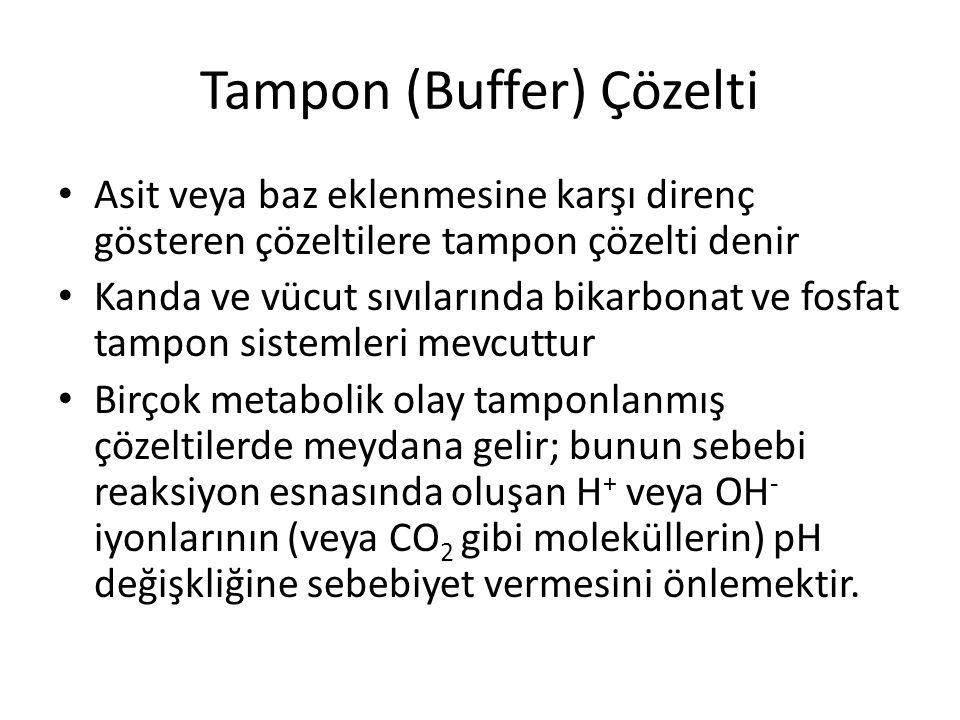 Tampon (Buffer) Çözelti