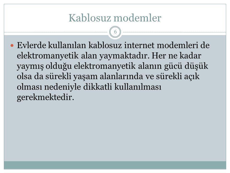 Kablosuz modemler