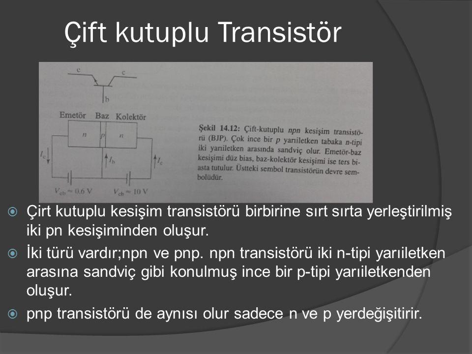 Çift kutuplu Transistör