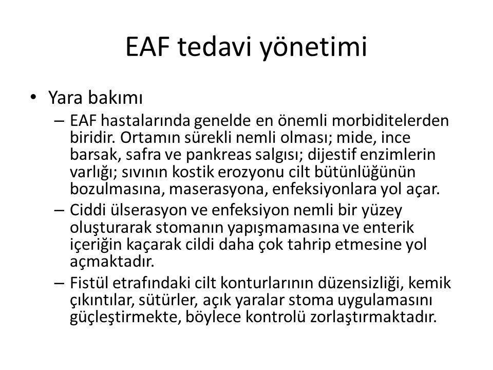 EAF tedavi yönetimi Yara bakımı