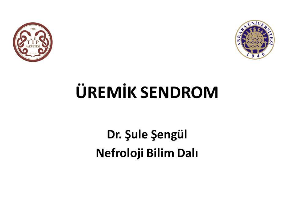 Dr. Şule Şengül Nefroloji Bilim Dalı