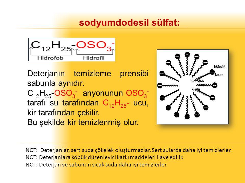 sodyumdodesil sülfat: