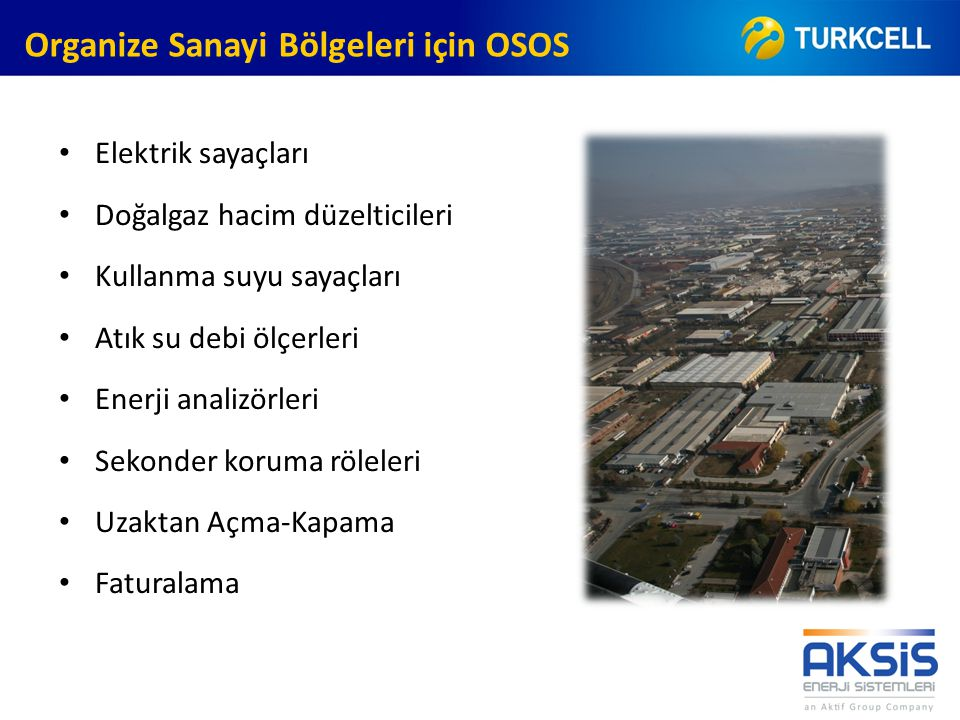 Organize Sanayi Bölgeleri için OSOS