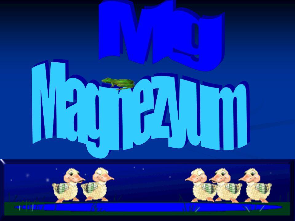 Mg Magnezyum
