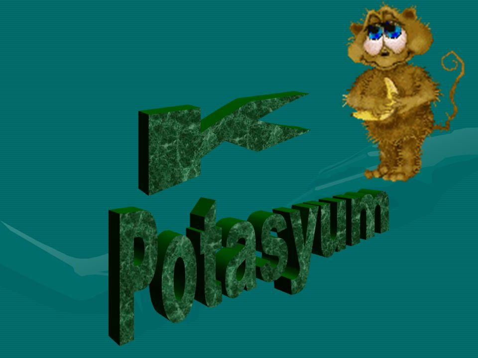 K Potasyum
