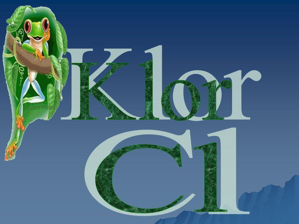 Klor Cl