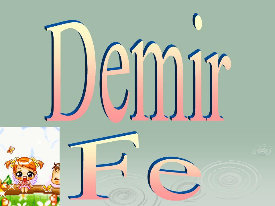 Demir Fe