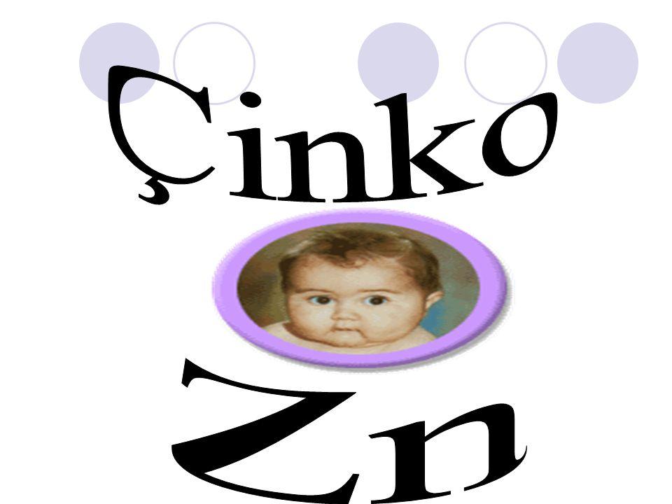 Çinko Zn