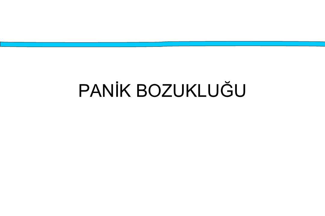 PANİK BOZUKLUĞU