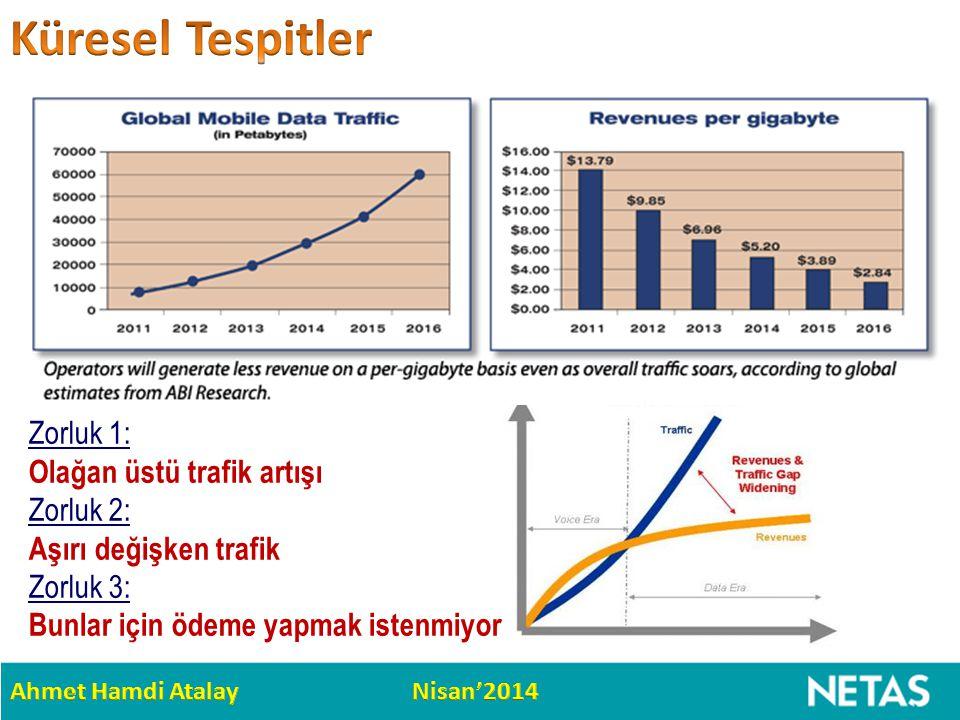 Küresel Tespitler Zorluk 1: Olağan üstü trafik artışı
