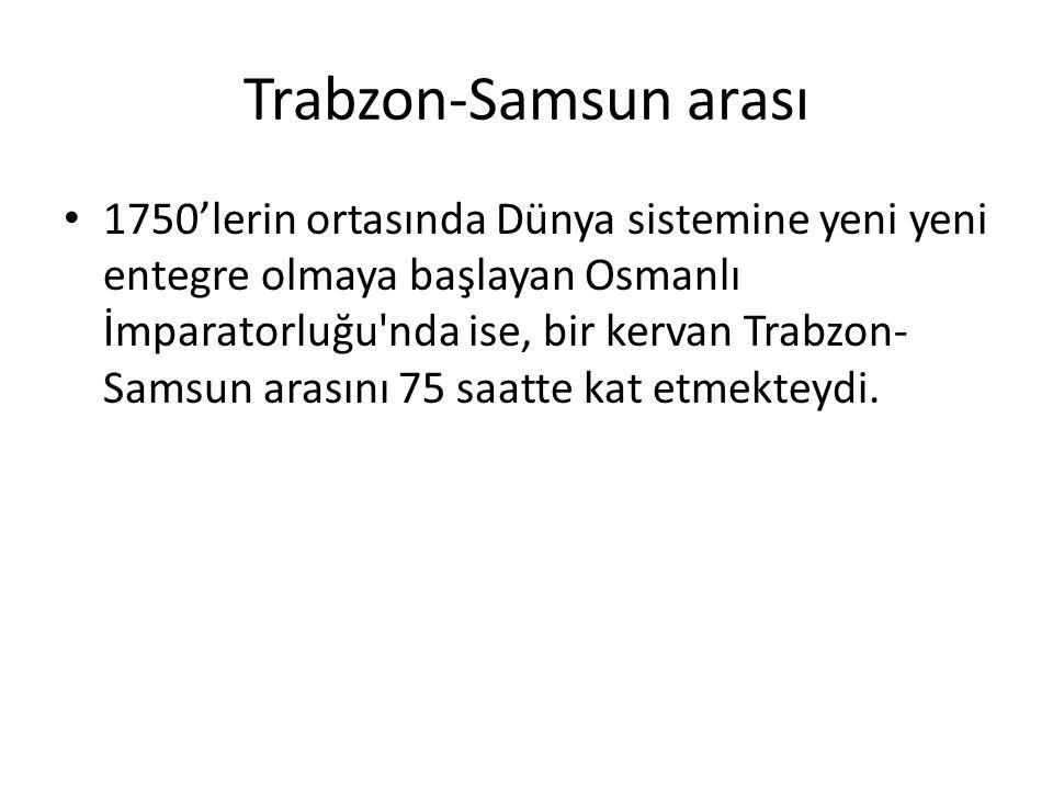 Trabzon-Samsun arası