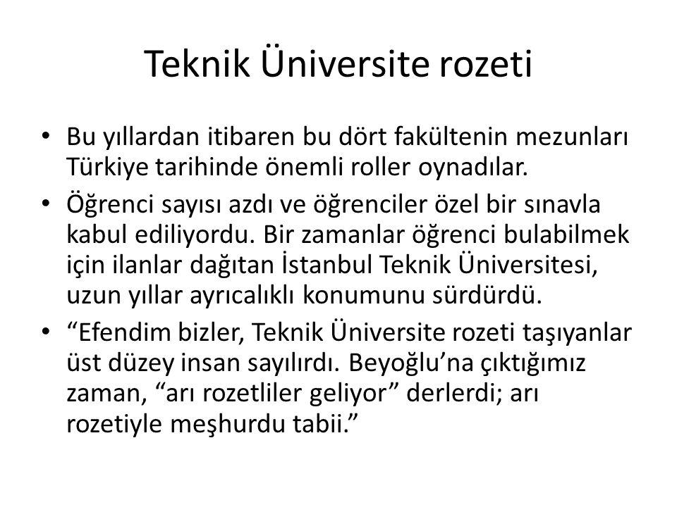 Teknik Üniversite rozeti
