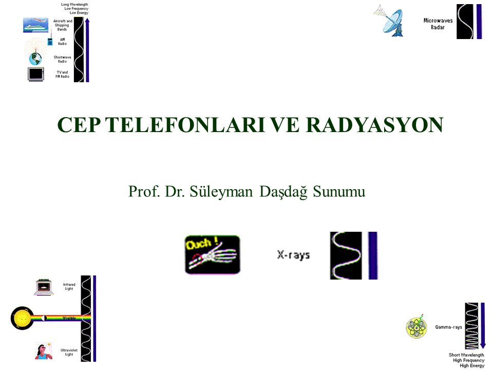 CEP TELEFONLARI VE RADYASYON