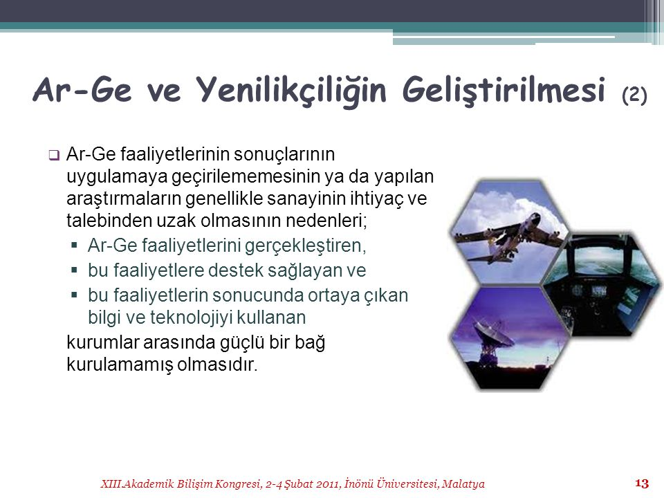 Ar-Ge ve Yenilikçiliğin Geliştirilmesi (2)