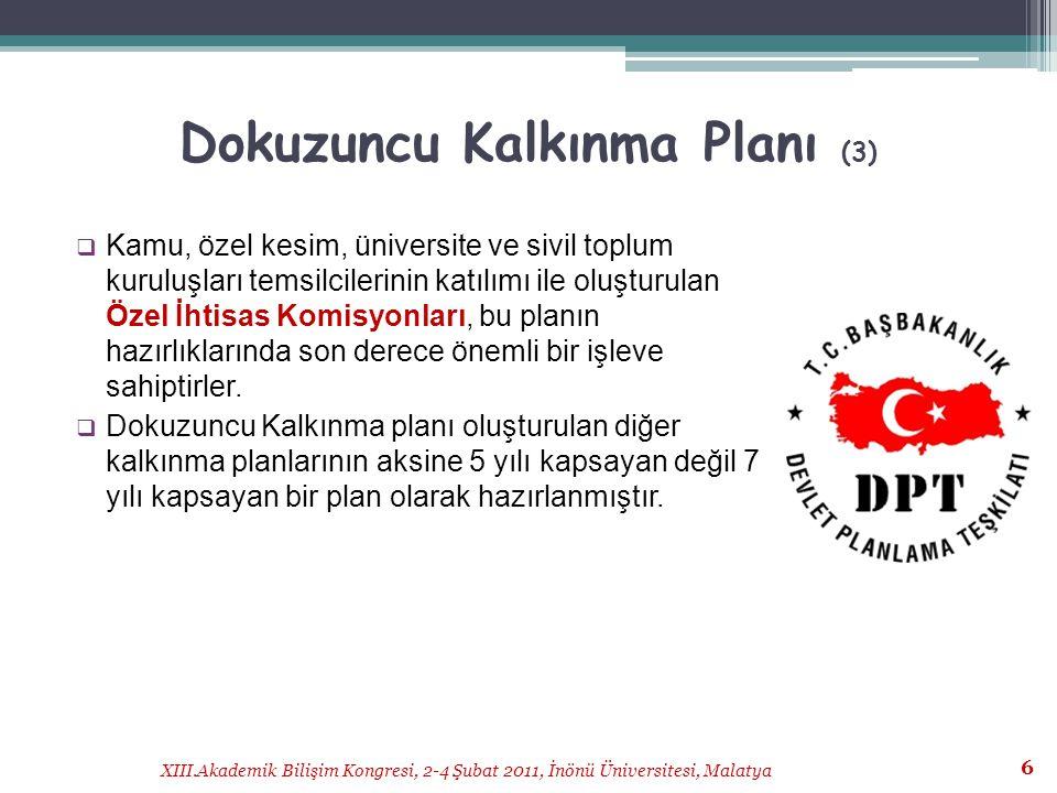 Dokuzuncu Kalkınma Planı (3)