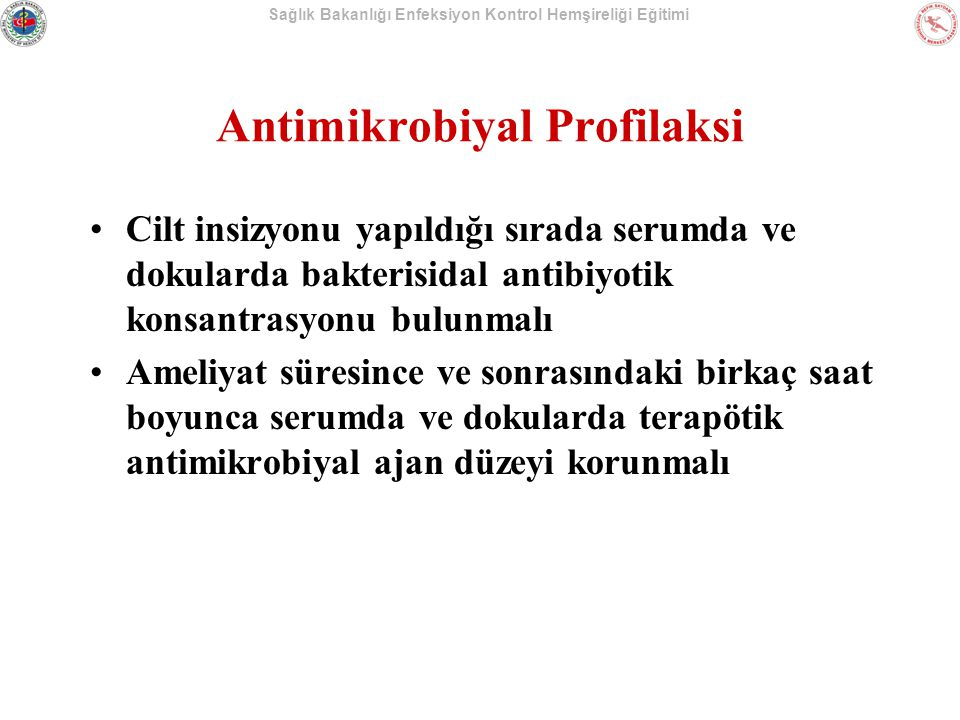 Antimikrobiyal Profilaksi