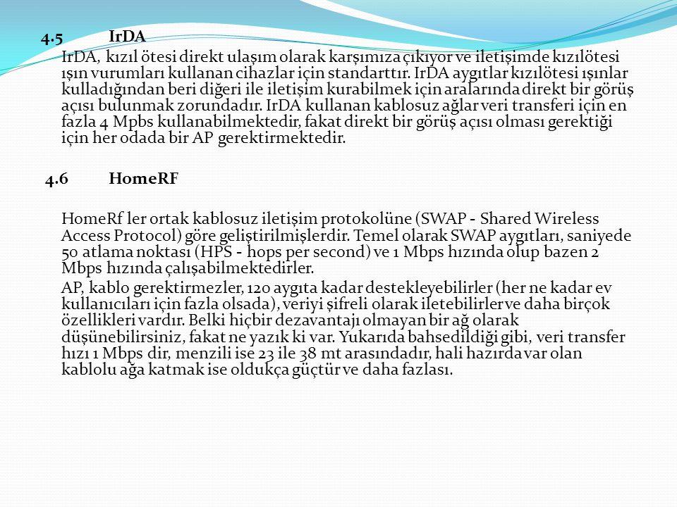 4.5 IrDA