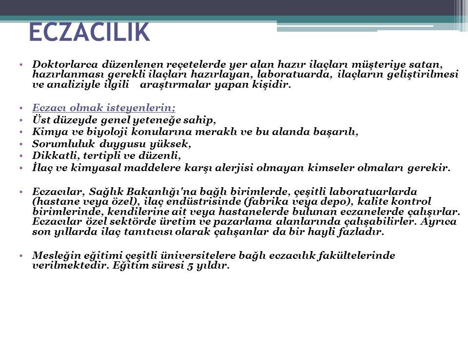 ECZACILIK