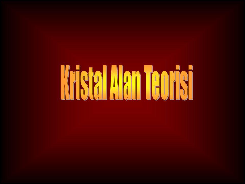 Kristal Alan Teorisi