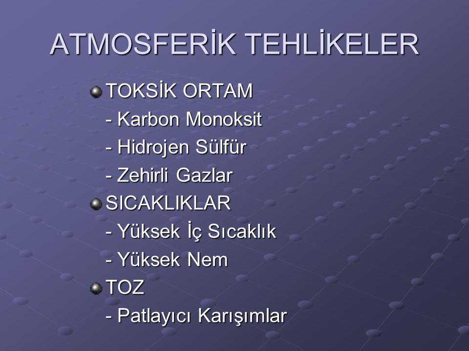 ATMOSFERİK TEHLİKELER
